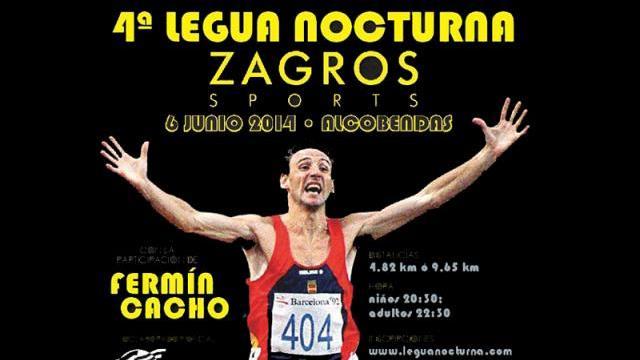 IV Legua Nocturna con la Colaboración de Fermín Cacho