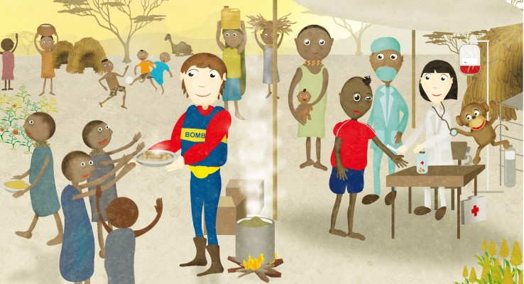 Kiano y los Cooperantes, Tecnología para Educar