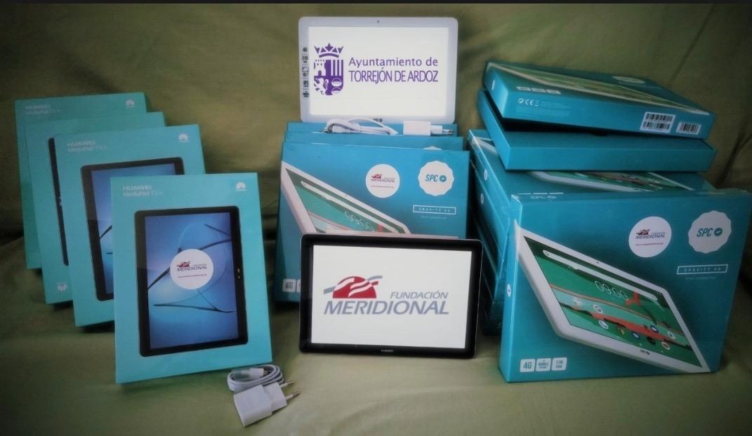 ¡GRACIAS, vuestra solidaridad ha entregado 39 Tablets!